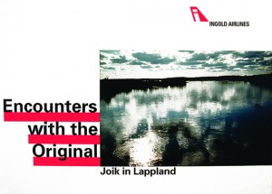Joik in Lappland, 120x90, 1991