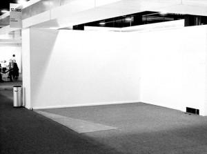 exhibition space, Gunter Frenzel